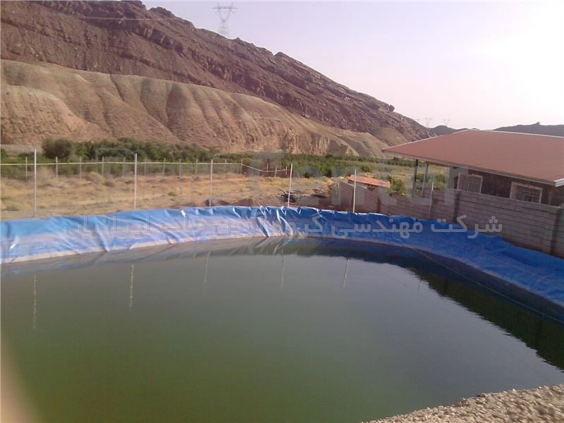 استخر ذخیره آب بتنی